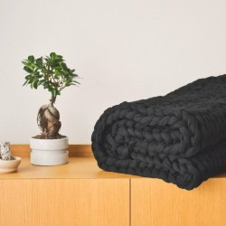 Zátěžová deka černá